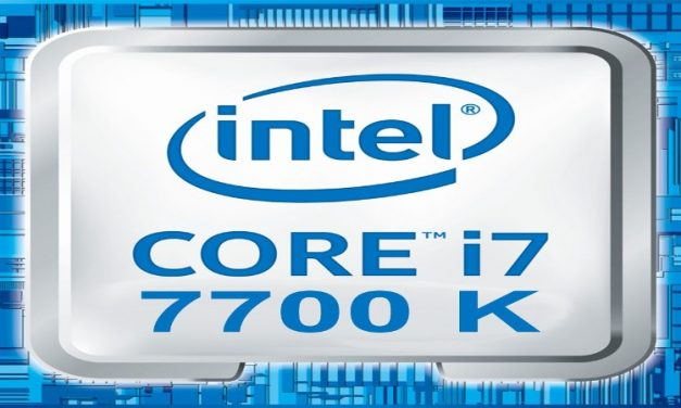 Intel Core i7-7700K et piétiné plus de 7 GHz