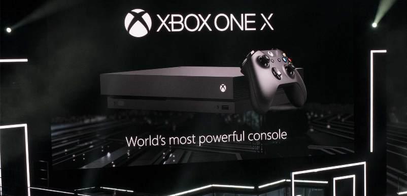 Microsoft dévoile sa nouvelle console Xbox One X | Conférence E3| 4K (vidéo)