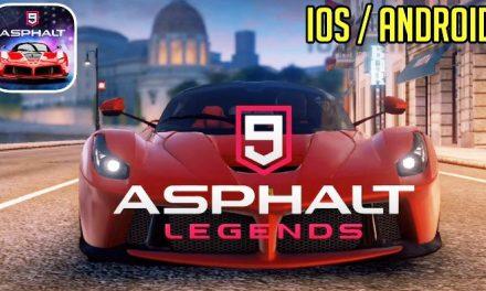 Asphalt 9 Legends Triche et Astuces & Jetons et Crédits 2020
