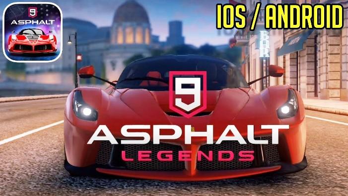 Asphalt 9 Legends Triche et Astuces & Jetons et Crédits