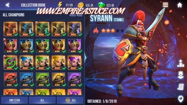 Dungeon Hunter Champions Triche et Astuces