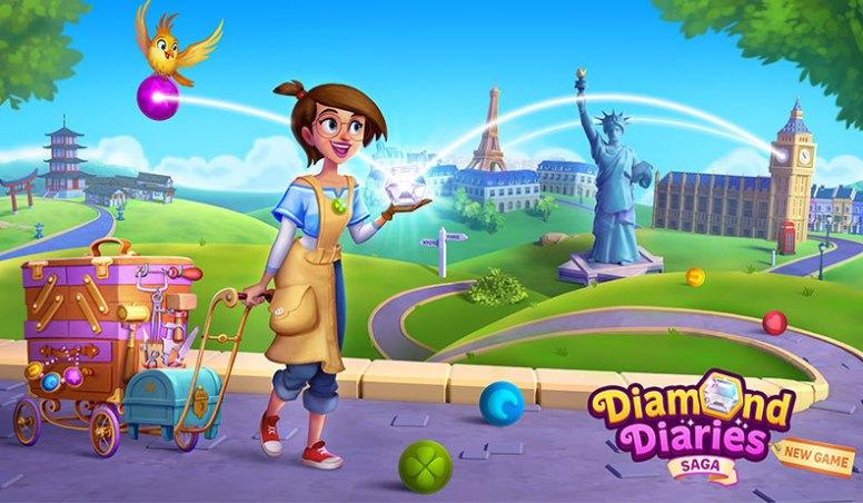 Diamond Diaries Saga Triche et Astuces (Android | iOS) Barres d'or 2021