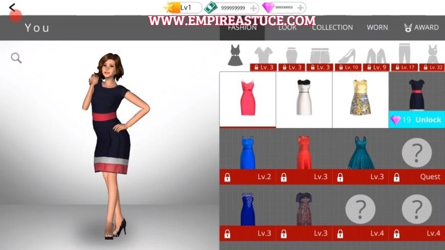 Fashion Empire Triche et Astuces 2021