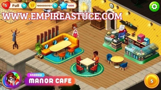 Manor Cafe Triche et Astuces 2020
