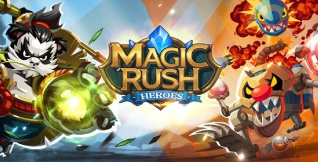 Magic Rush Heroes Triche et Astuces - Comment obtenir des diamants et des or illimités