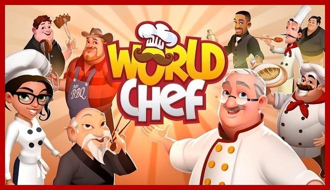 World Chef Triche et Astuces avantage des gemmes d'or illimitées