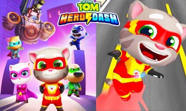 Talking Tom Hero Dash Triche et Astuces Gemmes et Monnaies Illimitées
