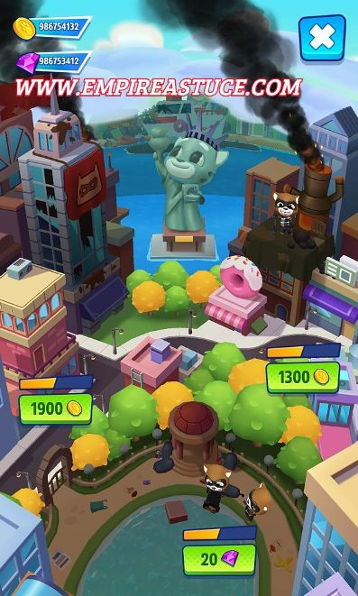 Talking Tom Hero Dash Triche et Astuces