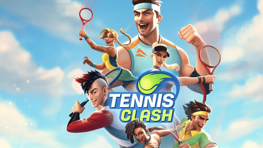 Tennis Clash Triche et Astuces 2021   Mod apk Gemmes, Pièces