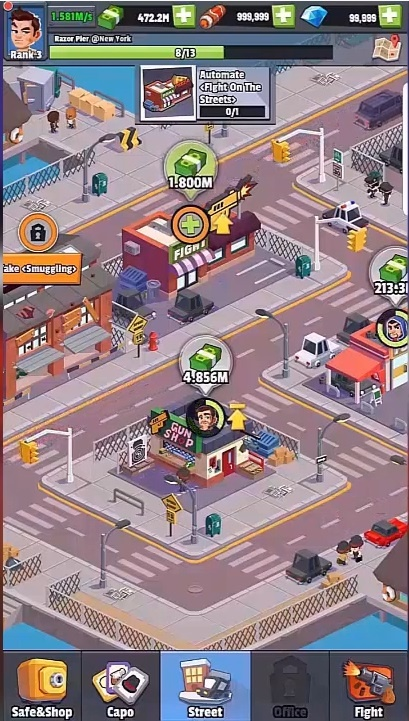 Idle Mafia Tycoon Manager Triche et Astuces