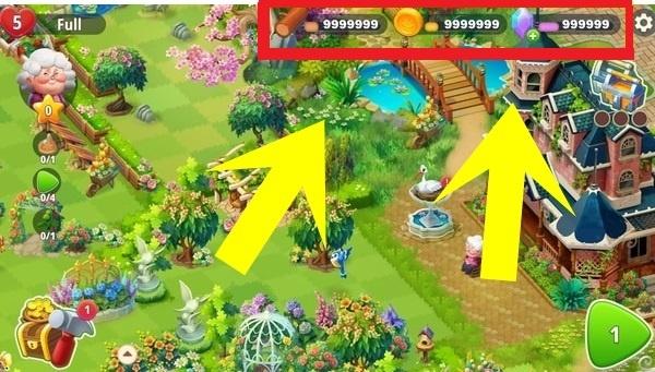 Merge Gardens Triche et Astuces APK / IOS 2021