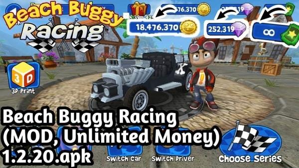 Beach Buggy Racing Triche et Astuces 2021