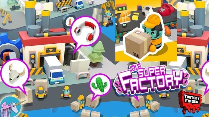 Idle Super Factory Triche et Astuces 2021 | Android et iOS